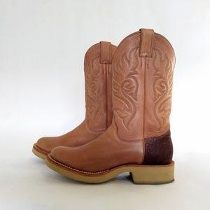 Justin Tekno Crepe Cowboy Boot Women's  Sz. 9B